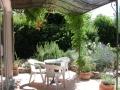 Studio en ete terrasse jardin pergola
